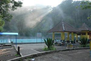 wisata air panas cangar