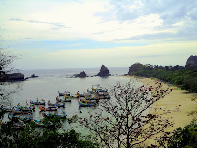 Pantai Papuma Jember Jawa Timur, Ini Harga Tiket Masuk 2017 + Peta Lokasi-nya